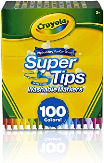 Best crayola 100 super tips washable markers Reviews