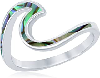 Best silver wave ring uk Reviews
