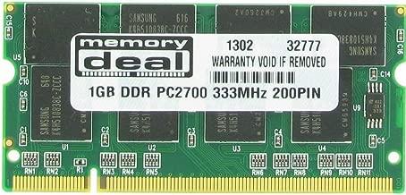 1GB Memory Ram DDR SO-DIMM PC-2700 333MHz 200-pin 1 GB for Apple Powerbook G4, Imac G4 Ibook G4
