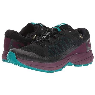 Salomon XA Elevate GTX(r) (Black/Potent Purple/Tropical Green) Women