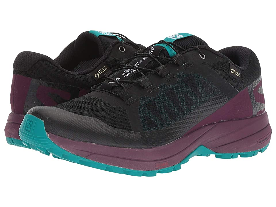 Salomon XA Elevate GTX(r) (Black/Potent Purple/Tropical Green) Women