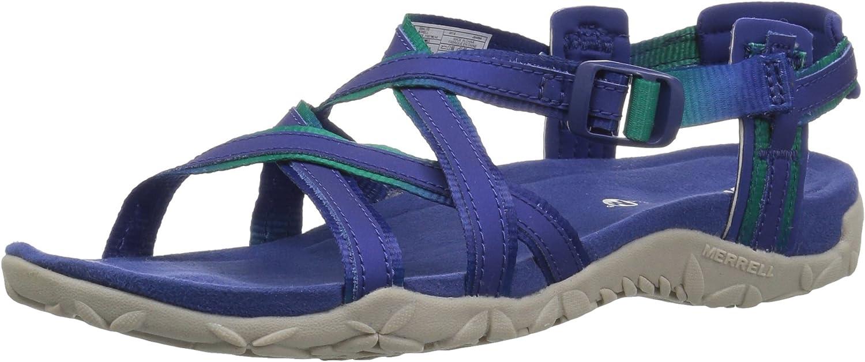 Merrell Woherren Terran Terran Ivy Lattice Sport Sandal, Sodalite, 10 M US  der niedrigste Preis