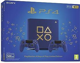 Console Sony PlayStation 4 Slim 500 GB Slim Days of Play - 2 Mandos Dual Shock