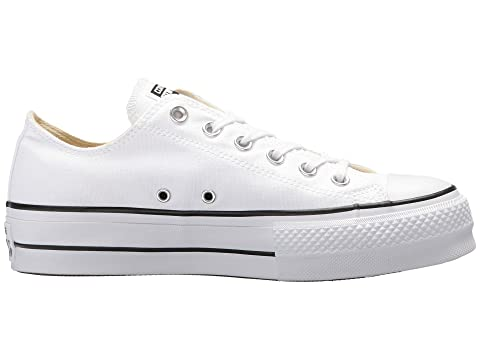 Black WhiteWhite Lift Converse All Black White Taylor Star Chuck Garnet Canvas wpqz7w