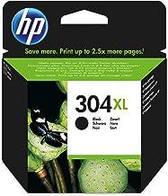 HP 304XL Black Original 8.5ml 300páginas Negro cartucho de tinta - Cartucho de tinta para impresoras (HP, N9K08AE, Negro, Deskjet 3720, Deskjet 3730, Standard Yield, 8,5 ml)