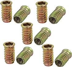 Stahl verzinkt Gewinde M8 Gewindemuffen zum Einschlagen 10 St/ück H8045 Gedotec Einschlagmutter Holz-Gewindeeinsatz zum Befestigen Einpressmutter f/ür Justierschrauben /& Verstellschrauben