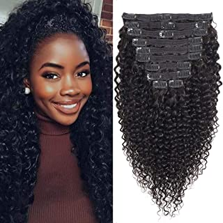 Best wavy human hair extensions clip in Reviews