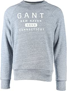Gant New Haven Mens Sweatshirt PreSS18