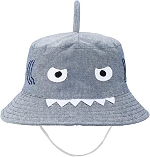Baby Animal Sun Hat - Toddler Kids Boys Breathable Cartoon Summer Sun Protection Bucket Hat