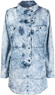 ISABEL MARANT ÉTOILE Luxury Fashion Womens RO162920P022E30LU Light Blue Dress | Spring Summer 20