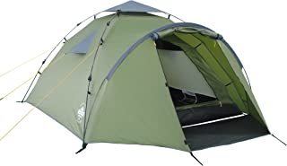 Lumaland Outdoor Pop Up Familienzelt Wurfzelt 3 Personen Zelt Camping Reise Trekking..