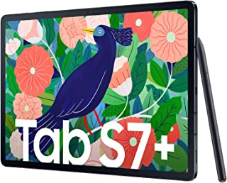 Galaxy Tab S7 Plus 5G (T976B) 256GB 8GB RAM International Version - Mystic Black