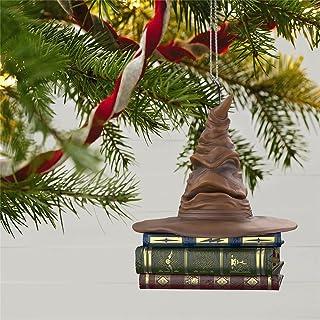 Harry Potter Sorteren Hoed Kerst Ornament - Harry Potter Sorteren Hoed, Keepsake Kerst Ornament 2021, Geluid en Motion Ker...