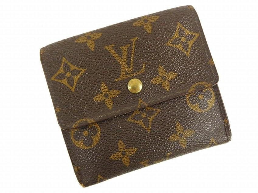 フック添加剤役立つ[ルイヴィトン] LOUIS VUITTON 二つ折り財布 モノグラム PVC×レザー X12575 中古