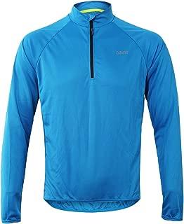 Cuzaekii Mens Long Sleeve Cycling Jersey MTB Bike Shirt Clothing for Summer & Cool Weather