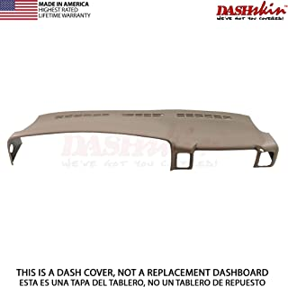 DashSkin Molded Dash Cover Compatible with 00-06 GM SUVs (exc Escalade) and 99-06 Pickups in Medium Neutral Tan (USA Made)