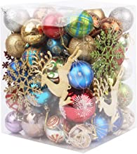 Ydh 31 stks kerstballen onbreekbaar opknoping kerstboom ornamenten bruiloft feest festival huis tuin decoratie