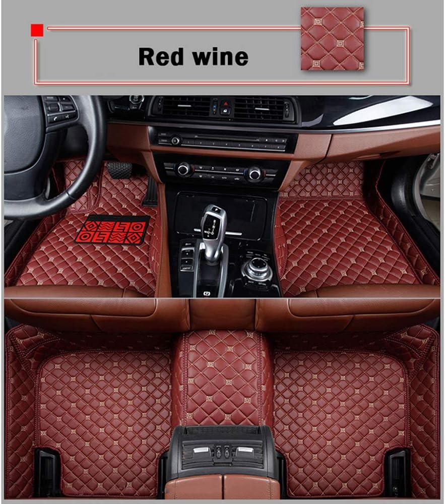 HCDSUSN Leather car Floor mats for store unisex Z10 5008 T600 2008 T200 ZOTYE