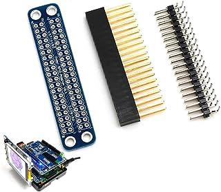 WINOGNEER ラズベリーパイ3モデルB、モデルB、A +、B +、Zero Transfer GPIO用の未組み立てのダブルGPIOアダプタ