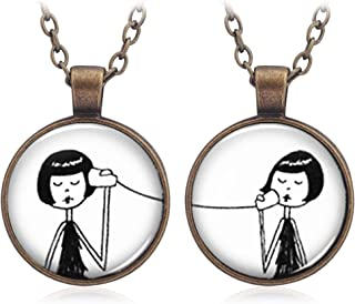 Best Friends Friendship Necklaces Set of 2 - Europe Style