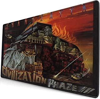 JamesMSmit Frank Zappa Civilization Phaze III Office,Game,Computer Mouse Pad,Gaming Mouse Pad,Large Mouse Pad