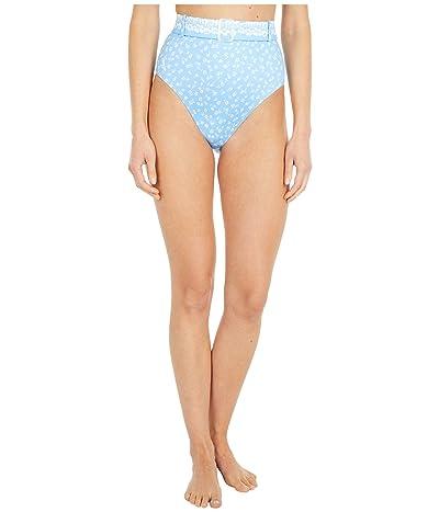 Polo Ralph Lauren Daisy Floral High-Waist Pant (Blue) Women