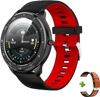スマートウォッチ ZEAKOC スマートブレスレット 歩数計 活動量計 血圧測定 睡眠検測 1.3インチ TFT大画面カラースクリーン 長い待機時間 Line/着信電話通知/SMS通知 長座注意 IP67防水 iPhone/Android対応