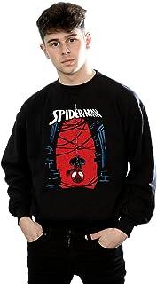 MARVEL Men's Spider-Man Hanging Sketch Sweatshirt