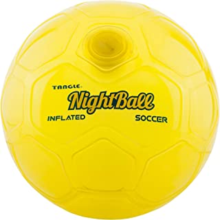 Nightball Tangle LED Light Up Soccer Ball Yellow