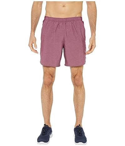 Nike Challenger Shorts 7 BF (Villain Red/Villain Red/Reflective Silver) Men