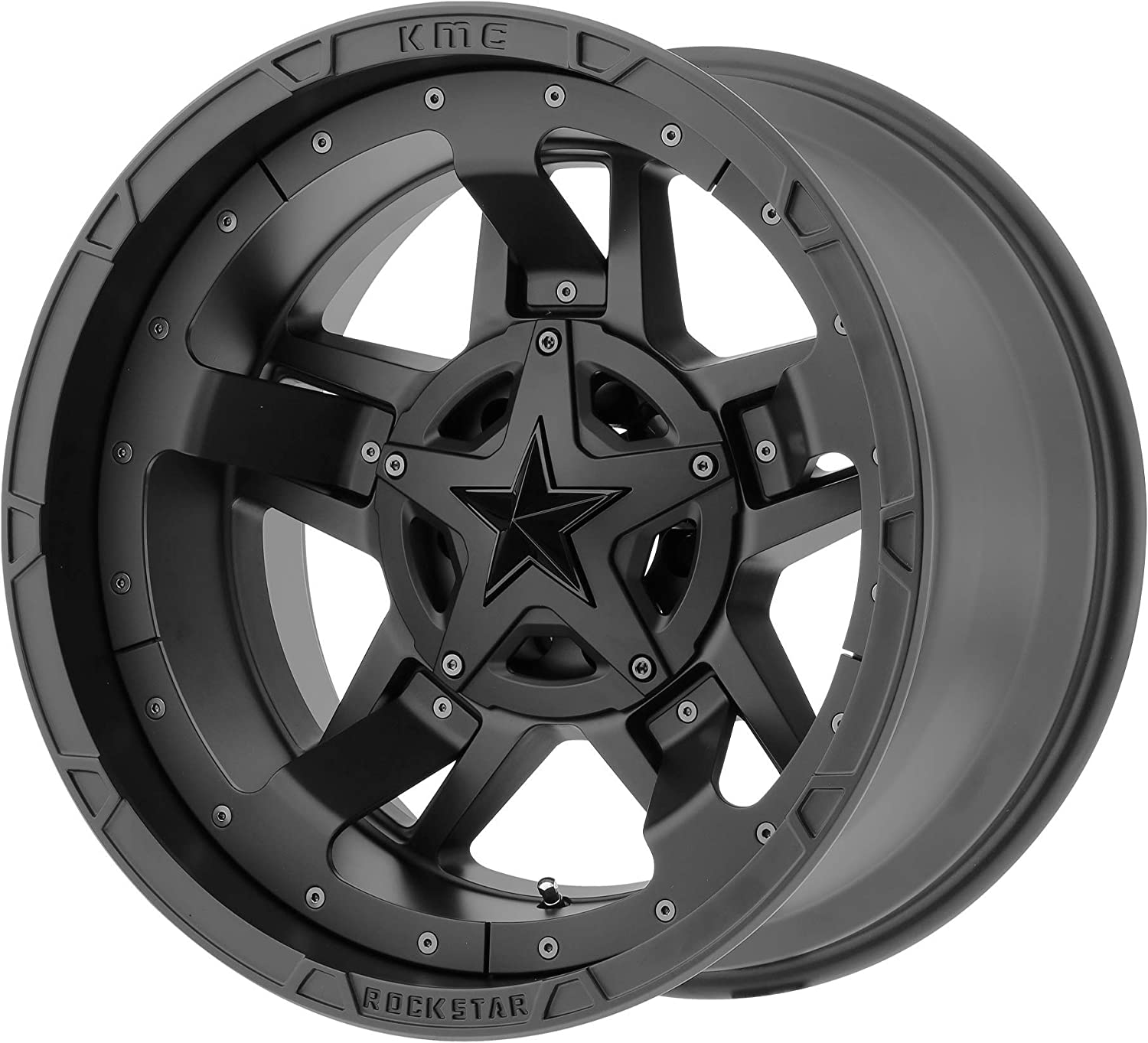 List price XD SERIES BY KMC Beauty products WHEELS RS3 MATTE 6x114.30 17x8 BLACK