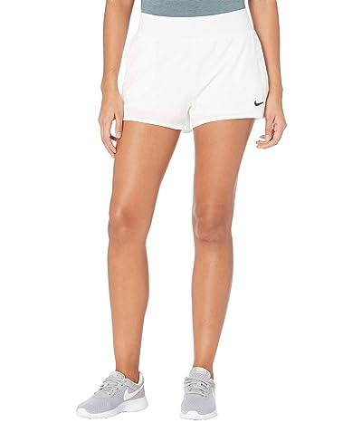 Nike NikeCourt Victory Dry Shorts (White/Black) Women