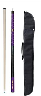 Imperial Officially Licensed NCAA 57-Inch 2-Piece Billiard/Pool Cue with Soft Case