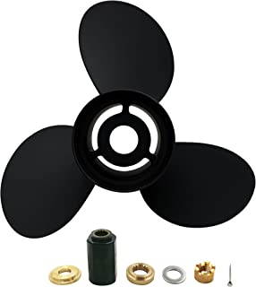 POLAFLEX Aluminum 3 Blade Prop Propeller with Interchangeable Hub Kits for Yamaha E 150-300HP