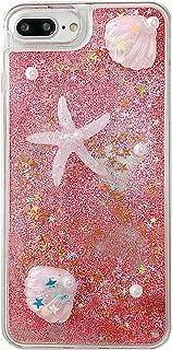 جراب هاتف نادولي متوافق مع هاتف سامسونج جالاكسي A32 4G، جراب واقي شفاف بنمط نجم البحر مصنوع يدويًا بشكل شفاف يتدفق الرمل ا...