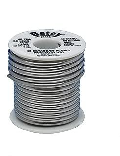 Oatey 21115 Leaded Acid Core Solder, 1/8 In Dia, Silvery, 1 Lb, Grey