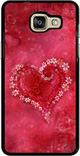 Casotec Heart Design 2D Printed Hard Back Case Cover for Samsung Galaxy A5 (2016)