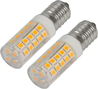 Reelco Mini E12 LED Light Bulbs C7 Bulbs 5Watt White 6000K 120V Candelabra Bulb 40Watt Incandescent