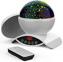 Elecstars Night Lights for Kids, Star Projector for Baby, Remote Control and Timer Design Projection Lamp for Bedroom, Star Sky Color Lamp for Children Kids Teens Birthday Gifts