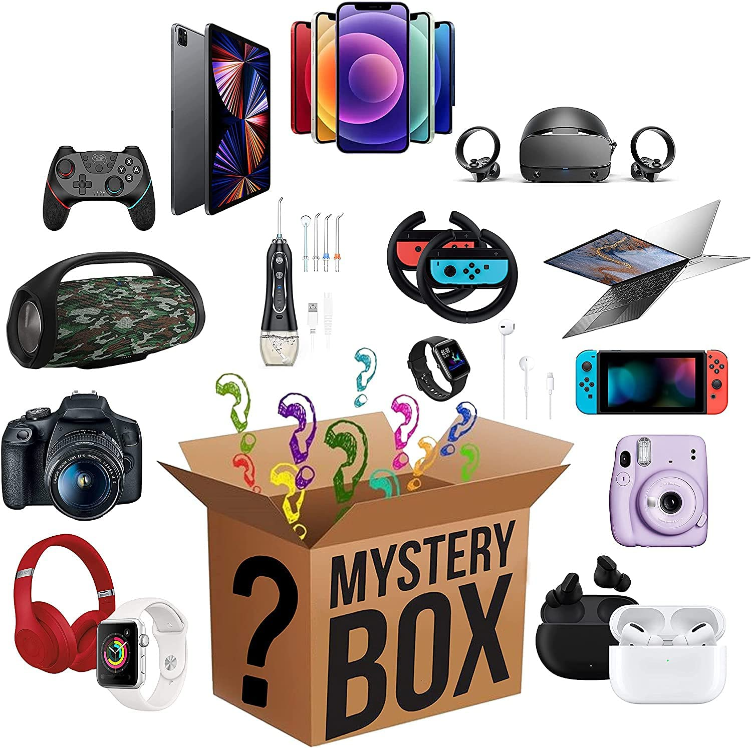 Mystery Box Dedication Electronic Lucky Super Boxes Random Outlet sale feature Costeffective