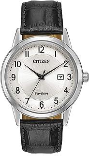 Citizen Orologio Analogico Quarzo Uomo con Cinturino in Pelle AW1231-07A