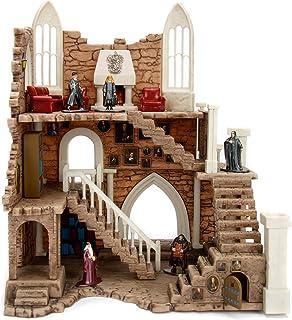 Dickie Toys Harry Potter Griffindor Tower, Griffindor toren, incl. 2 verzamelfiguren, Harry Potter speelgoed, 4 cm, bruin