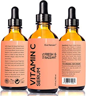 Skin Brightening Vitamin C Serum by Eve Hansen - Anti Aging