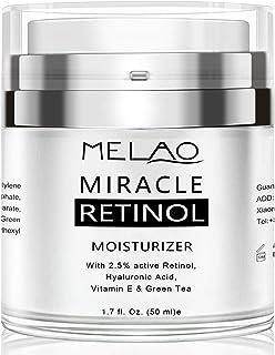 Retinol Cream, Face Moisturizer for Women, Face Cream for Anti Aging Acne Dark Spot Wrinkle Natural and Organic Night Crea...