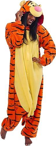 DISNEY 3- Japanische Pyjamas Kigurumi-- Kostüm für Erwachsene (Tigger)