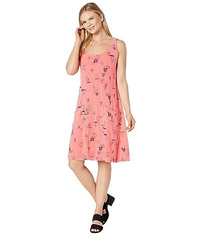Fresh Produce Harbour Hues Drape Dress (Vibrant Poppy) Women