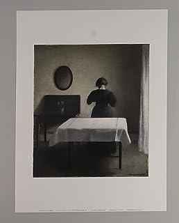 BiblioArt Series ハマスホイ「Interior (1898)」A4版額絵