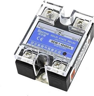 BEM-14840DA 3-32V DC to 24-480V AC 40A Output Single Phase SSR Solid State Relay