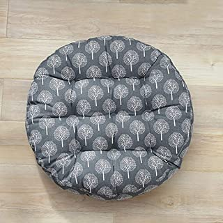 Tatami Thickened Seat Cushioning, Round Office Chair Pad Fabric Student Comfort Non-slip Rattan Chair Cushions-u Diameter ...