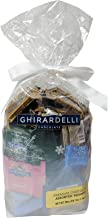 Ghirardelli Chocolate Squares Holiday Gift Bag - 80 Count (All Time Favorites)